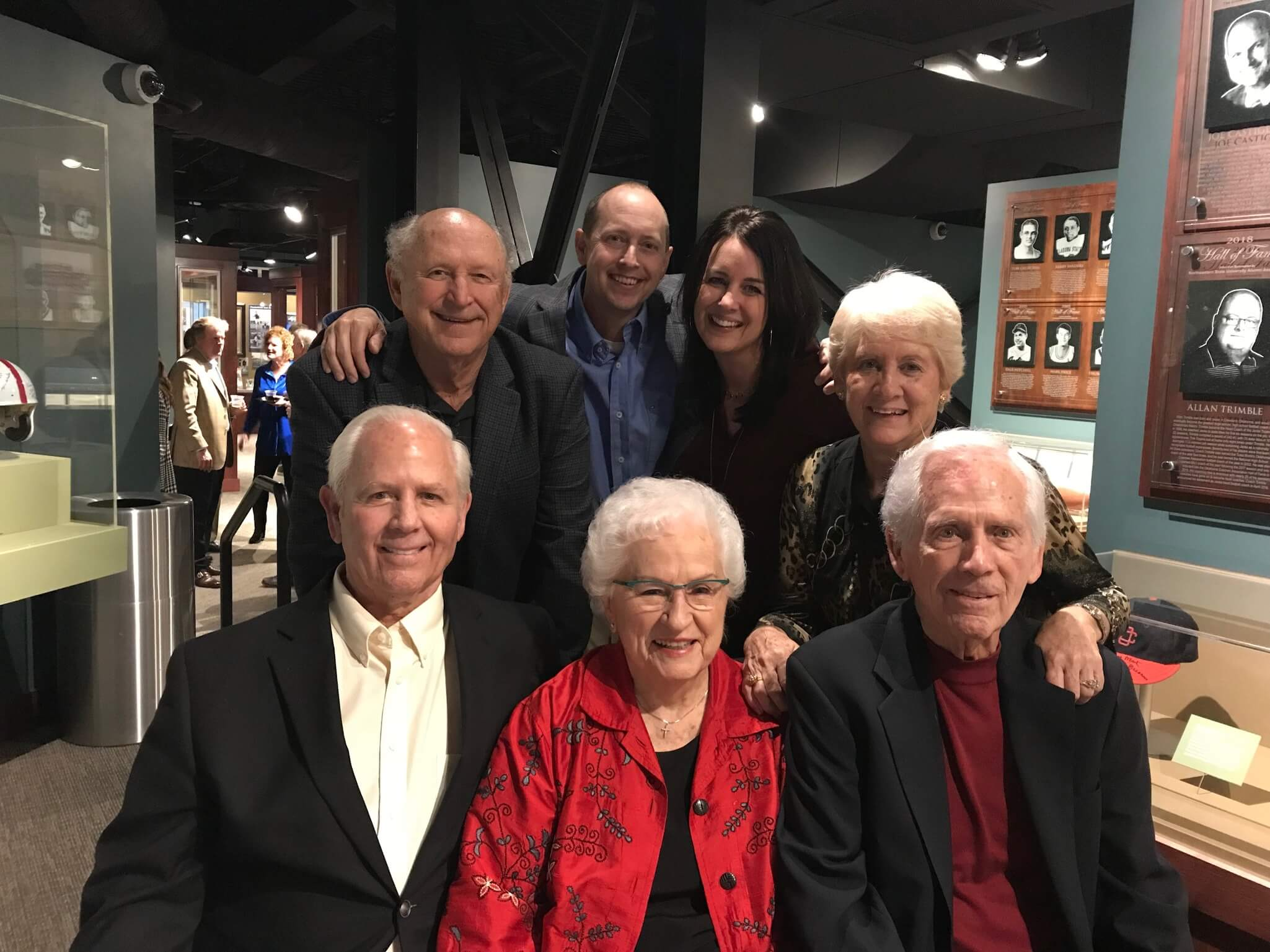 The Minihan and Land Families - Gold Ball Donors