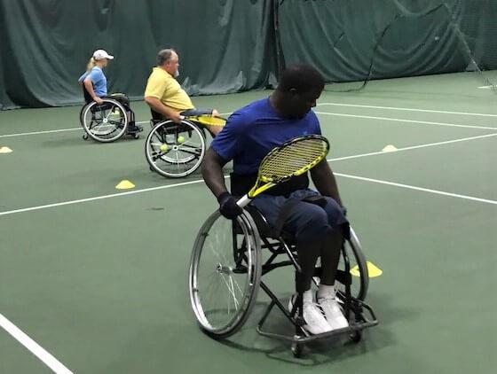 Santa Fe Family Life Center Wheelchair Tennis Clinic, OKC