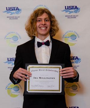 2018: Ira Millington; Norman High School; University of Oklahoma  Not pictured: Carly Parks; Ponca City; Southwestern Christian University