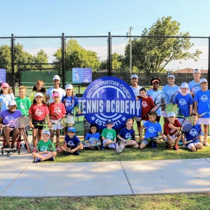 Britton Christian Church Tennis Academy, OKC